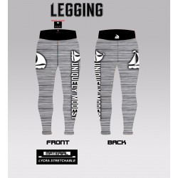 SUBLIMATED FITNESS TIGHTS MOCKUP