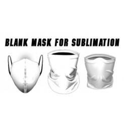 BLANK MASK FOR SUBLIMATED